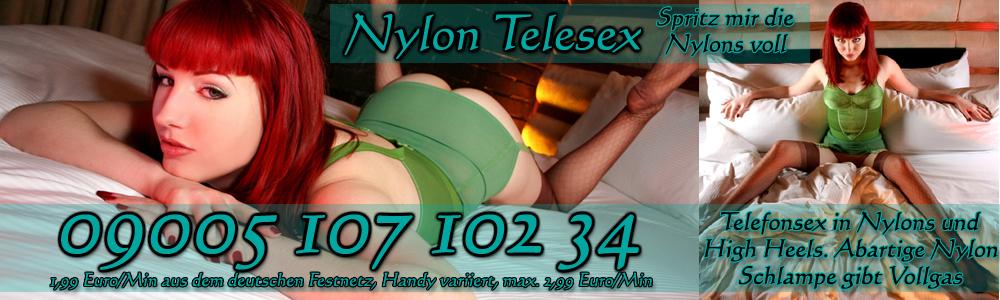 9 Nylon Telefonsex mit Anastasia - Die rote Zora lädt ein zum Tanz